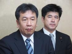 枝野幹事長と今井幹事長代理