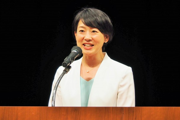 平山佐知子予定候補者