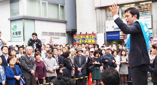 【東京10区】「この地、国への思いは誰にも負けない。格差の流れをどうしても止める」鈴木ようすけ候補
