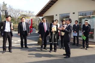 七ヶ浜町の災害光栄復興住宅を見学