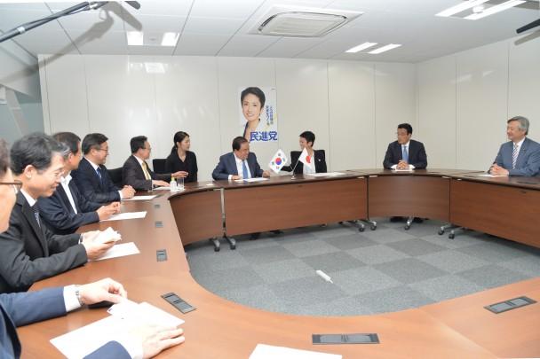 韓国日本特使団と