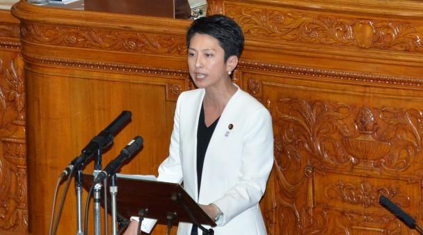 【参院本会議】共謀罪法案、委員会採決なしに与党が強行採決 蓮舫代表が反対討論